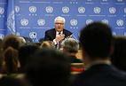 Russia's UN envoy Vitaly Churkin