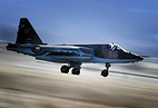 Su-25SM attack aircraft