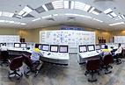 Блок управления на атомной электростанции в Бушере