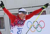 Swiss skier Dario Cologna