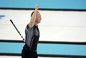 Canadian curler Brad Jacobs