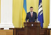Kiev Mayor Vitaly Klitschko