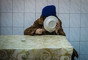 In a meal center, Luhansk region