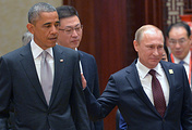 Barack Obama and Vladimir Putin (archive)