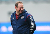 Russian national football team head coach Leonid Slutsky