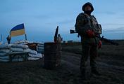 Ukrainian soldier in the Kherson region in southern Ukraine (archive)