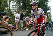 Russian cyclist Eduard Vorganov