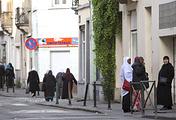 Belgian capital's Molenbeek neighborhood