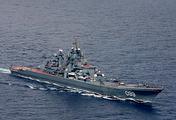 The Pyotr Veliky heavy nuclear-powered missile cruiser