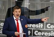 Oleg Znarok, head coach of the Russian national ice hockey team