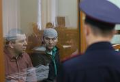 Tamerlan Eskerkhanov and Shadid Gubashev, suspected of being involved in the murder of Boris Nemtsov