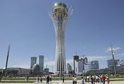 Baiterek Tower in Kazakhstan's capital city, Astana