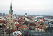 A view of Bratislava