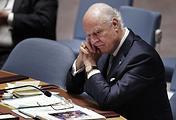 UN Special Envoy for Syria Staffan de Mistura