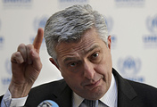 UN High Commissioner for Refugees Filippo Grandi