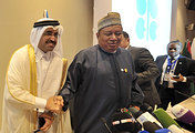 OPEC Secretary General Mohammad Sanusi Barkindo