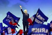 France's National Front leader, Marine Le Pen