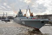 The Admiral Gorshkov frigate