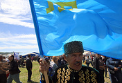 People attend celebrations of Hidirellez, the Crimean Tatar holiday of spring