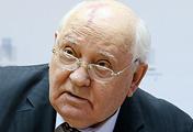 Former President of the Soviet Union Mikhail Gorbachev