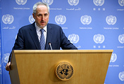 UN Secretary General spokesman Stephane Dujarric