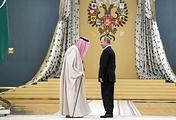 Saudi King Salman and Russian President Vladimir Putin
