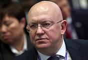 Russia's UN envoy, Vasily Nebenzya