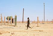 Syrian-Iraqi border in Al-Tanf, Syria