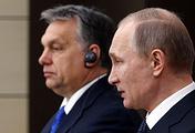 Hungarian Prime Minister Viktor Orban and Russian President Vladimir Putin, 2016