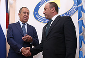 Russian top diplomat Sergey Lavrov and Foreign Minister of Bosnia and Herzegovina Igor Crnadak