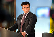 Ukraine's Foreign Minister Pavel Klimkin