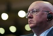 Russia's Permanent Representative to the UN Vasily Nebenzya