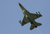 Israeli F-16 jet fighter