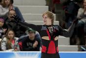 Russian figure skater Sergey Voronov