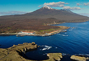 Iturup island, one of Kuril Islands