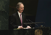UN Secretary General's new envoy for Syria Geir Pedersen