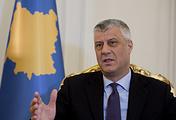 Kosovo President Hashim Thaci