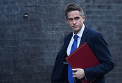 British Defense Secretary Gavin Williamson