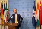 United Nations Special Envoy for Syria Geir Pedersen
