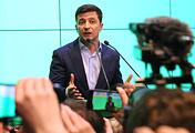 Ukraine's President-elect Vladimir Zelensky