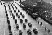 Victory Parade in Moscow's Red Square, June 24, 1945