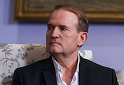 Chairman of the Political Council of Ukraine's Opposition Platform - For life party Viktor Medvedchuk