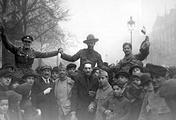 Празднования подписания перемирия в Париже