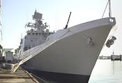 Построенный для ВМС Индии в Санкт-Петербурге фрегат Talwar