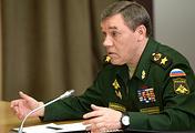Начальник Генерального штаба Вооруженных сил России генерал армии Валерий Герасимов