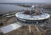 """Строительство стадиона """"Зенит Арена"""" на Крестовском острове"""