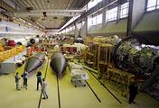 Сборочный цех Государственного космического научно-производственного центра имени М.В. Хруничева