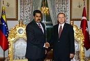 Николас Мадуро и Реджеп Тайип Эрдоган (слева направо)
