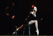 Майя Плисецкая исполняет партию Кармен, 1970 год