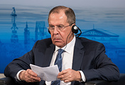 Министр иностранных дел РФ Сергей Лавров на Мюнхенской конференции по безопасности, 2016
